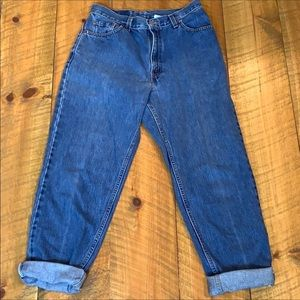 Vintage Levi's 550 Mom jeans High rise relaxed fit